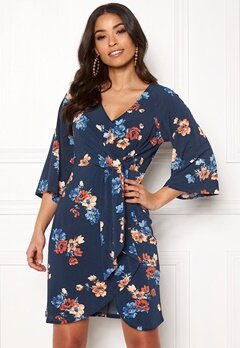 Happy Holly Alva dress Blue / Patterned Bubbleroom.eu