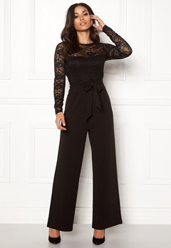 Happy Holly Amalia jumpsuit Black Bubbleroom.eu