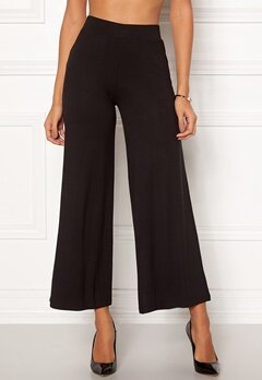 Happy Holly Anne tricot pants Black Bubbleroom.eu