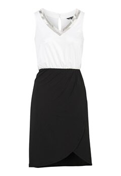 Happy Holly Anya dress Black / Offwhite Bubbleroom.eu