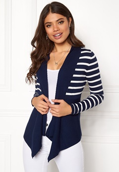 Happy Holly Beatrice cardigan Navy / Striped Bubbleroom.eu