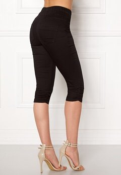 Happy Holly Becky capri jeggings Black Bubbleroom.eu