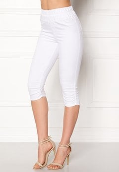 Happy Holly Becky capri jeggings White Bubbleroom.eu