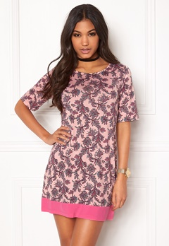 Happy Holly Belicia dress Pink / Patterned Bubbleroom.eu