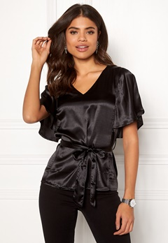 Happy Holly Bella blouse Black Bubbleroom.eu