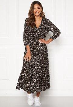 Happy Holly Bianka maxi  dress Black / Patterned Bubbleroom.eu