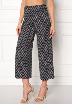Happy Holly Bianka pants Black / Patterned Bubbleroom.eu