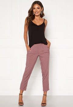 Happy Holly Blake pants Dusty pink / Dotted Bubbleroom.eu