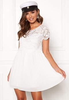 Happy Holly Blanche occasion dress White Bubbleroom.eu
