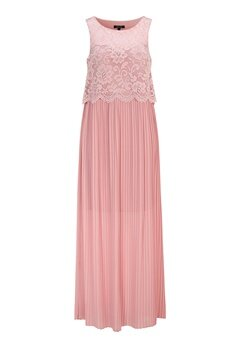 Happy Holly Blanche occasion maxi dress Dusty pink Bubbleroom.eu