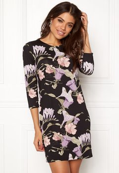 Happy Holly Blenda dress Black / Patterned Bubbleroom.eu