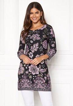 Happy Holly Blenda dress Purple / Patterned Bubbleroom.eu