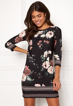 Happy Holly Blenda dress Patterned / Black Bubbleroom.eu