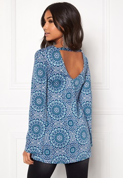 Happy Holly Blenda tunic Blue Bubbleroom.eu
