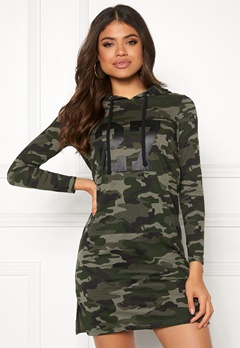 Happy Holly Camila tricot hood Camouflage Bubbleroom.eu