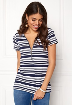 Happy Holly Carrie top Striped Bubbleroom.eu