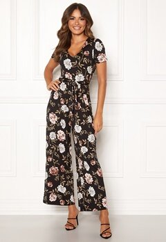 Happy Holly Celine Jumpsuit Black / Patterned Bubbleroom.eu