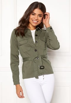 Happy Holly Cindy jacket Khaki green Bubbleroom.eu