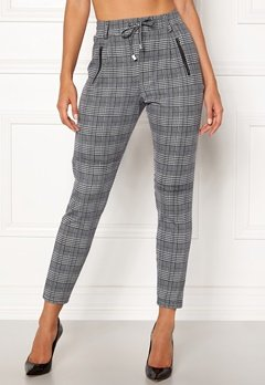 Happy Holly Cleo Trousers Checked Bubbleroom.eu