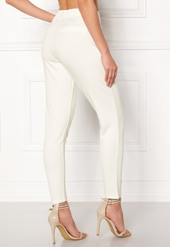 Happy Holly Cleo Trousers Light offwhite Bubbleroom.eu