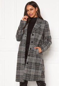 Happy Holly Corinne checked coat Checked Bubbleroom.eu