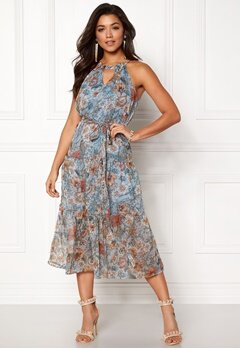 Happy Holly Debby dress Blue / Patterned Bubbleroom.eu