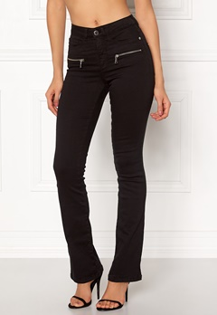 Happy Holly Debra bootcut jeans Black Bubbleroom.eu