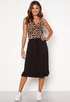 Happy Holly Desiree frill skirt Black Bubbleroom.eu
