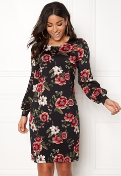 Happy Holly Ellie dress Black / Patterned Bubbleroom.eu