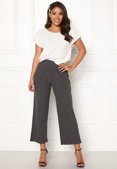 Happy Holly  Elly pants Dark grey melange Bubbleroom.eu