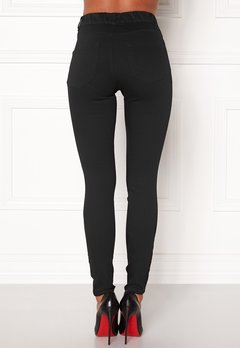 Happy Holly Elwira jeggings Black denim Bubbleroom.eu