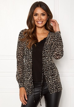 Happy Holly Emele mesh top Leopard Bubbleroom.eu