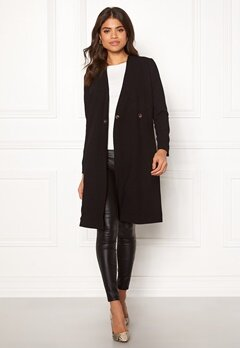 Happy Holly Emma coat Black Bubbleroom.eu