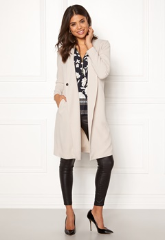 Happy Holly Emma coat Light beige Bubbleroom.eu