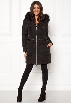 Happy Holly Emmie jacket Black Bubbleroom.eu