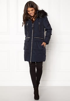 Happy Holly Emmie jacket Dark blue Bubbleroom.eu