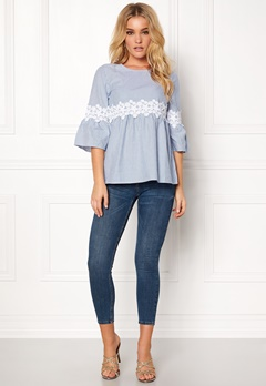 Happy Holly Emmy blouse Striped Bubbleroom.eu
