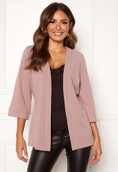 Happy Holly Estelle kimono jacket Dusty pink Bubbleroom.eu