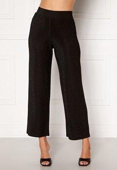 Happy Holly Estelle lurex pants Black Bubbleroom.eu