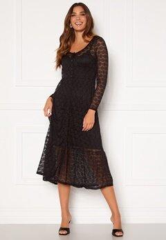 Happy Holly Evelina lace dress Black Bubbleroom.eu