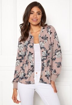 Happy Holly Fannie jacket Light pink / Patterned Bubbleroom.eu