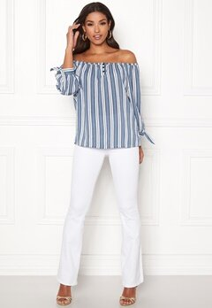 Happy Holly Fanny blouse Striped Bubbleroom.eu
