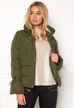 Happy Holly Fanny jacket Khaki green Bubbleroom.eu