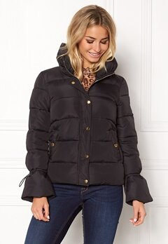 Happy Holly Fanny jacket Black Bubbleroom.eu