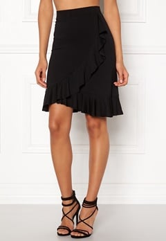 Happy Holly Farah skirt Black Bubbleroom.eu