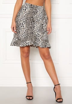 Happy Holly Farah skirt Leopard Bubbleroom.eu