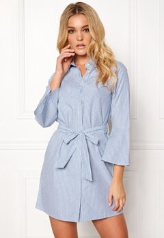 Happy Holly Filippa shirt dress Striped Bubbleroom.eu