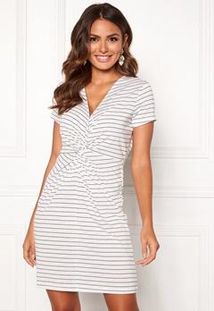 Happy Holly Fiona dress White / Striped Bubbleroom.eu