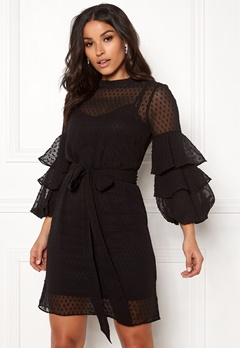 Happy Holly Gabriella dress Black Bubbleroom.eu