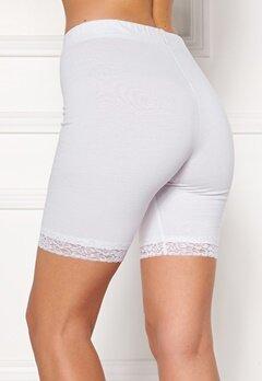 Happy Holly Greta Bike shorts White Bubbleroom.eu